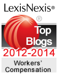 LexisNexis Top 25 Blogs for Workers' Compensation and Workplace Issues – 2014 Honorees.